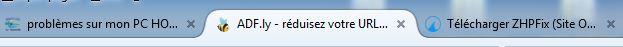 problèmes sur mon PC HOME Seven Rien10