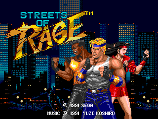 Streets of Rage 1 Collection for V5: Vecta Edition Title10