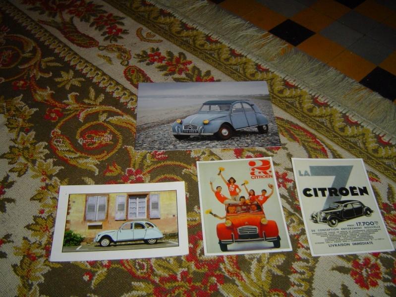 Ma collection d'objets CITROEN et d'objets à l'effigie de la 2 CV !!! Dsc00311