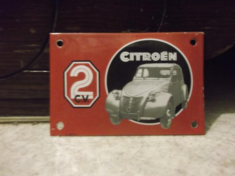 Ma collection d'objets CITROEN et d'objets à l'effigie de la 2 CV !!! Dscf1431