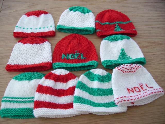 mes bonnets de noël Pict1215