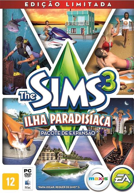 The Sims 3 Ilha Paradisíaca Capa-i10