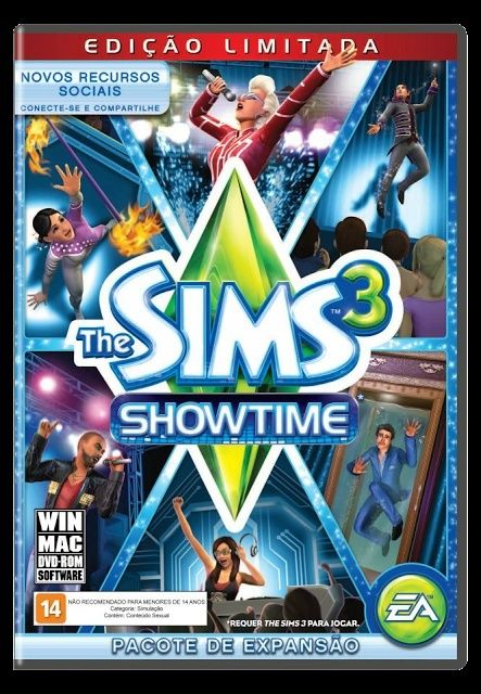 The Sims 3 Showtime Capa-s10