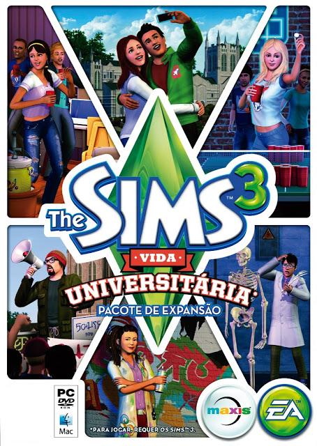 The Sims 3 Vida Universitária Univer10