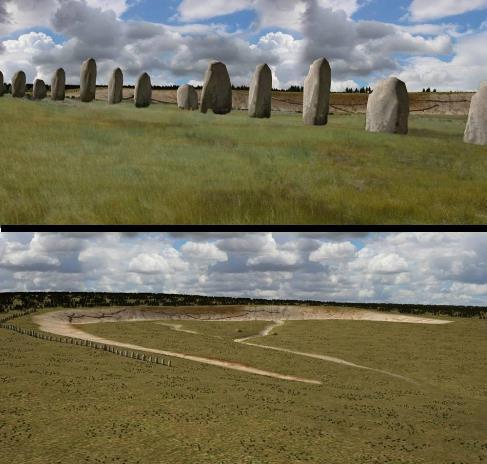 Scoperta una nuova Stonehenge  New-st10