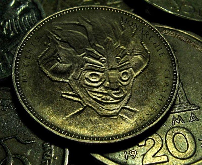 [REALISATION] défi de la monnaie de Castl clash 10cts_12