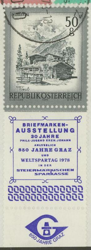 Briefmarken - Briefmarken mit Zierfeldern Allongen (bedruckte Zierfelder) 05_05_11