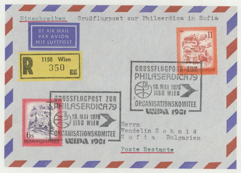 Gruss-Flugpost aus Wien 18_05_10