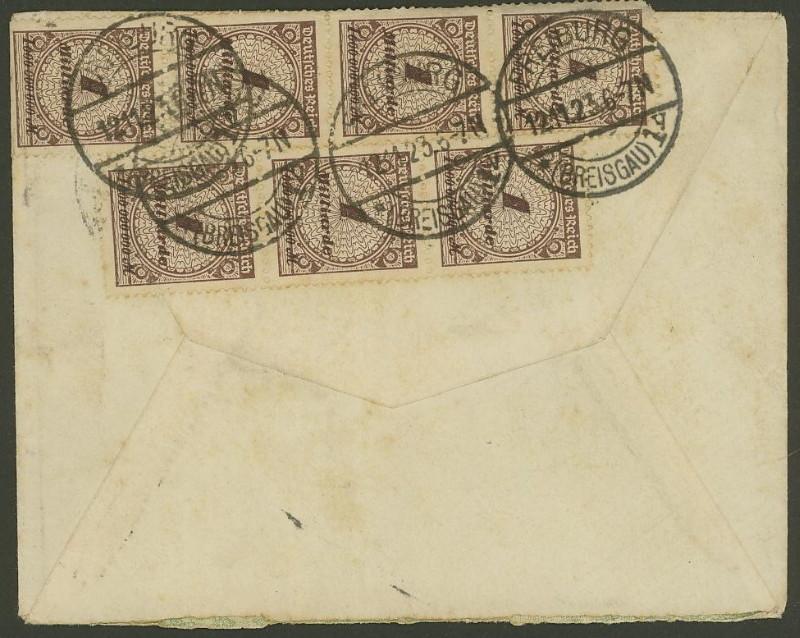 Deutsches Reich Okt. 1918 bis Nov. 1923 325ax111