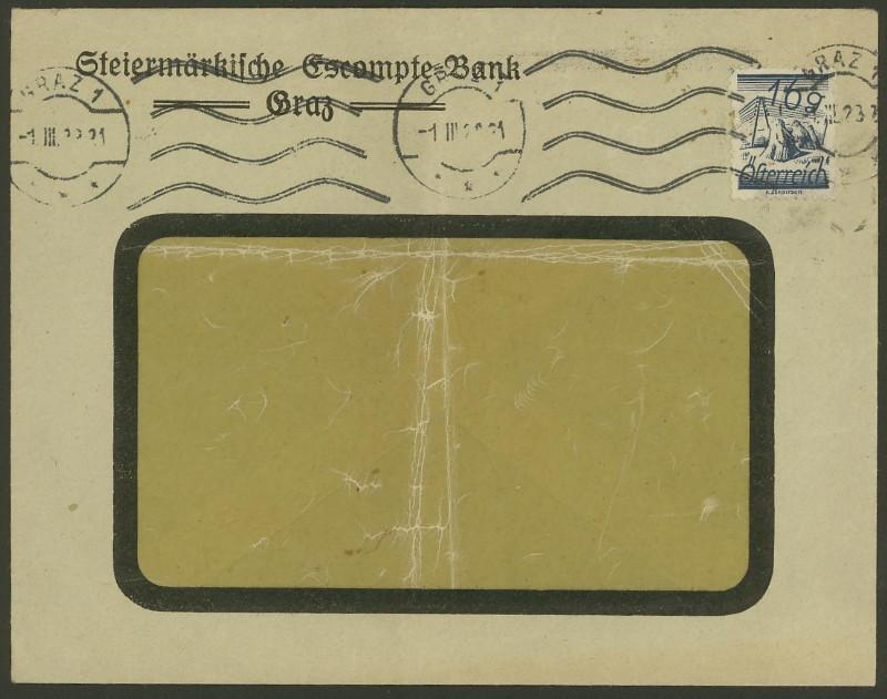 Briefe / Poststücke österreichischer Banken - Seite 3 Steier10