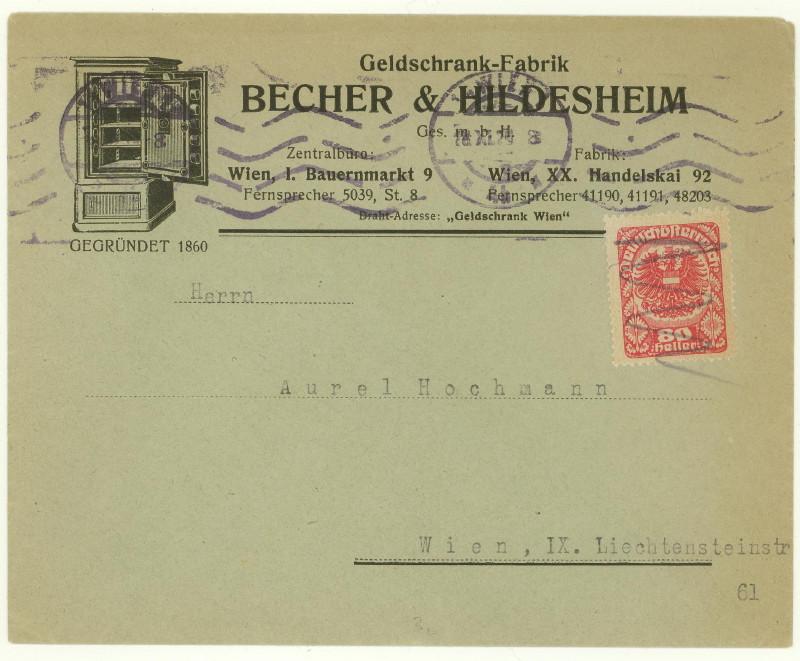 Werbeumschläge und -karten aus Österreich - Seite 4 Tresor10