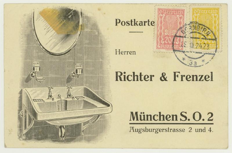 Werbeumschläge und -karten aus Österreich - Seite 4 Waschb10
