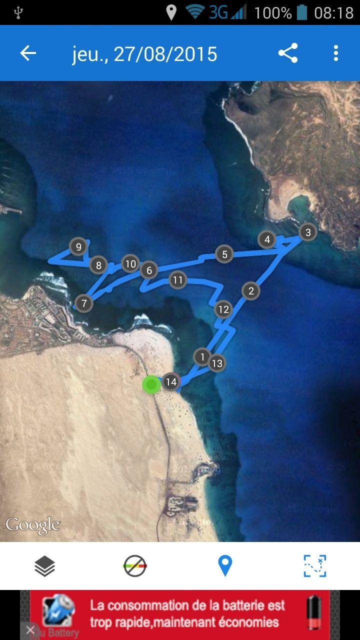 Nos records de vitesse sur 500 m au GPS Screen10