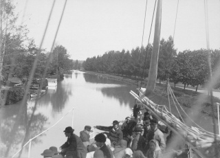 L'inauguration du canal du Göta (septembre 1832) 1200px11