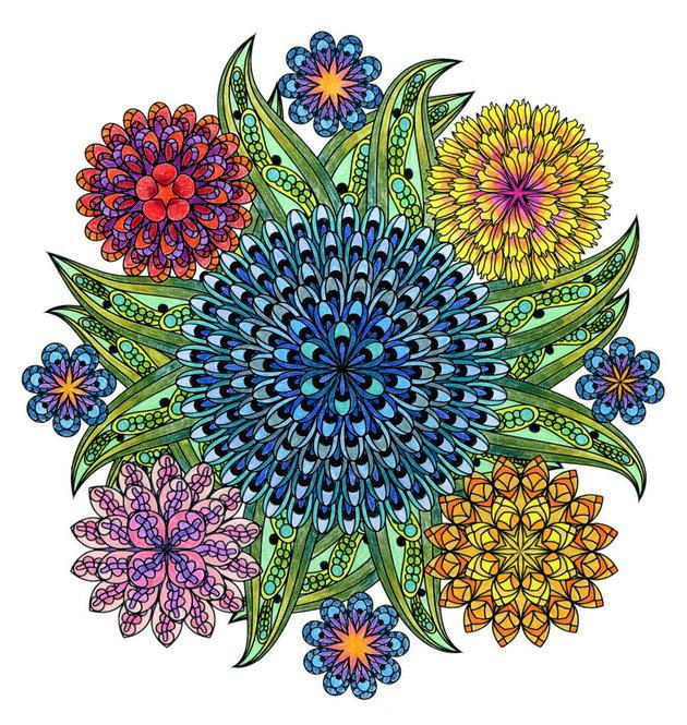 Selon les psychologues, le coloriage est la meilleure alternative à la méditation 55b7cd10