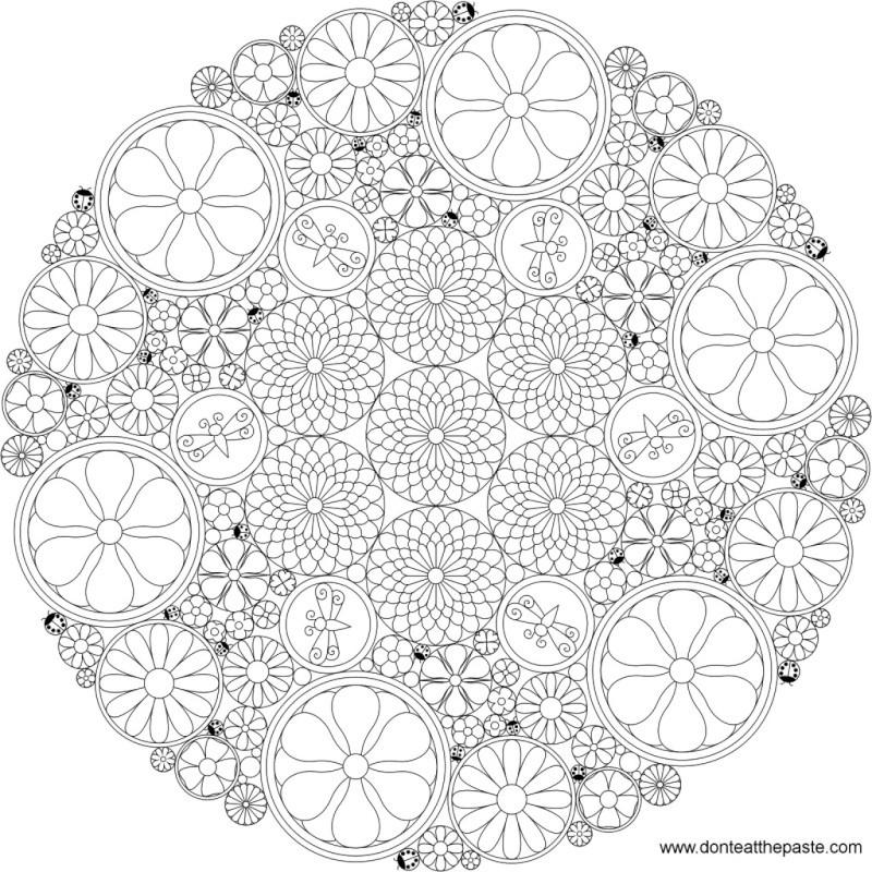 Selon les psychologues, le coloriage est la meilleure alternative à la méditation Flower10