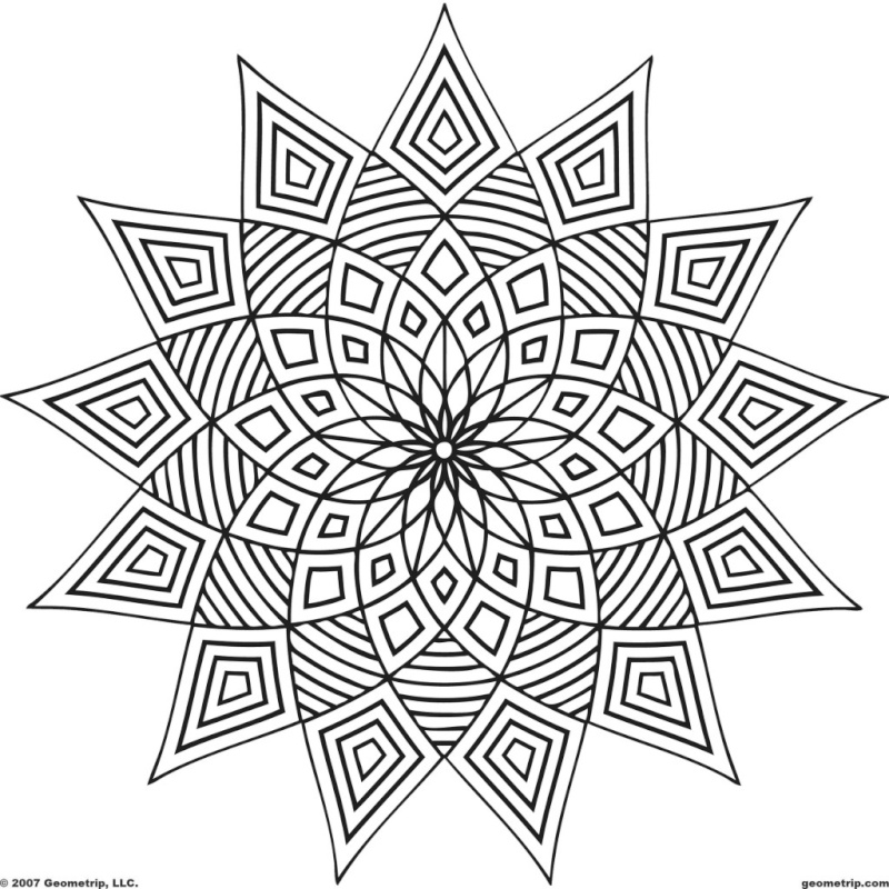 Selon les psychologues, le coloriage est la meilleure alternative à la méditation Geomet10