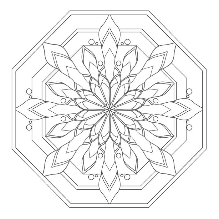 Selon les psychologues, le coloriage est la meilleure alternative à la méditation Mandal14