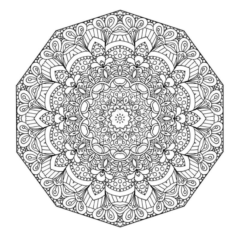 Selon les psychologues, le coloriage est la meilleure alternative à la méditation Mandal15