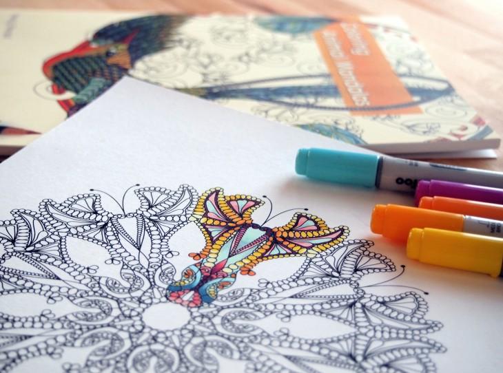 Selon les psychologues, le coloriage est la meilleure alternative à la méditation Pc036110