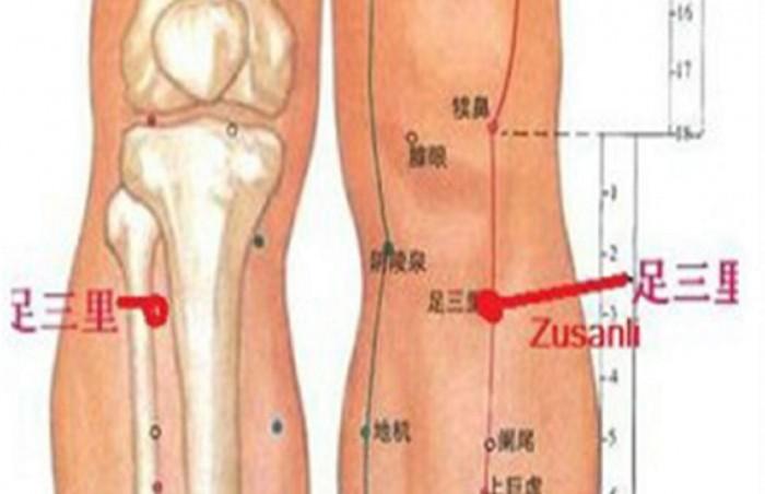 Zu San Li : Voici ce qui se passe quand vous massez ce point sur votre jambe Point-10