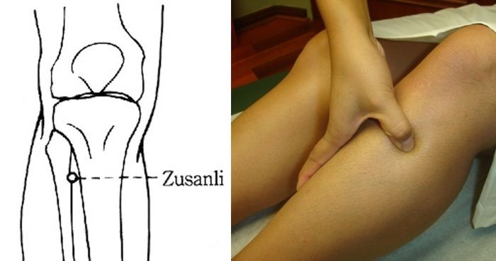 Zu San Li : Voici ce qui se passe quand vous massez ce point sur votre jambe Zusan-10