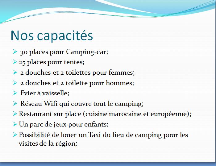 Présentation de Camping-Parc Oued Boufekrane 1110