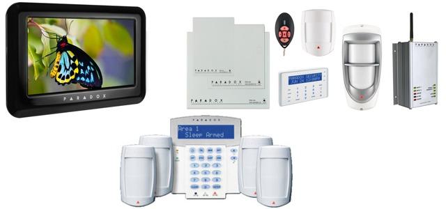 системы сигнализации PARADOX Ops10