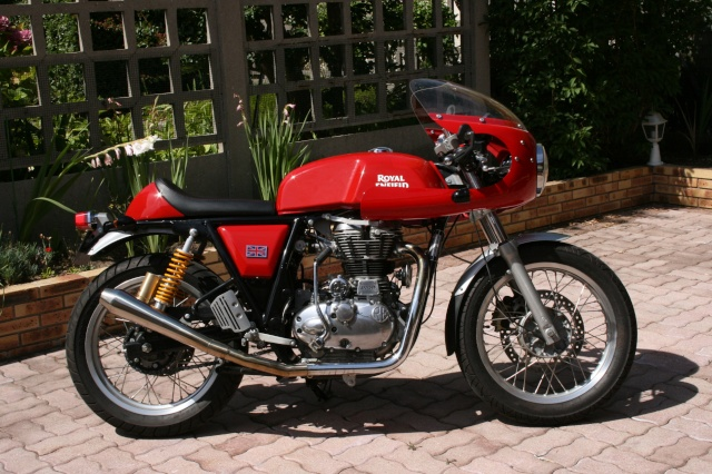 ROYAL ENFIELD CONTINENTAL GT...LE FORUM