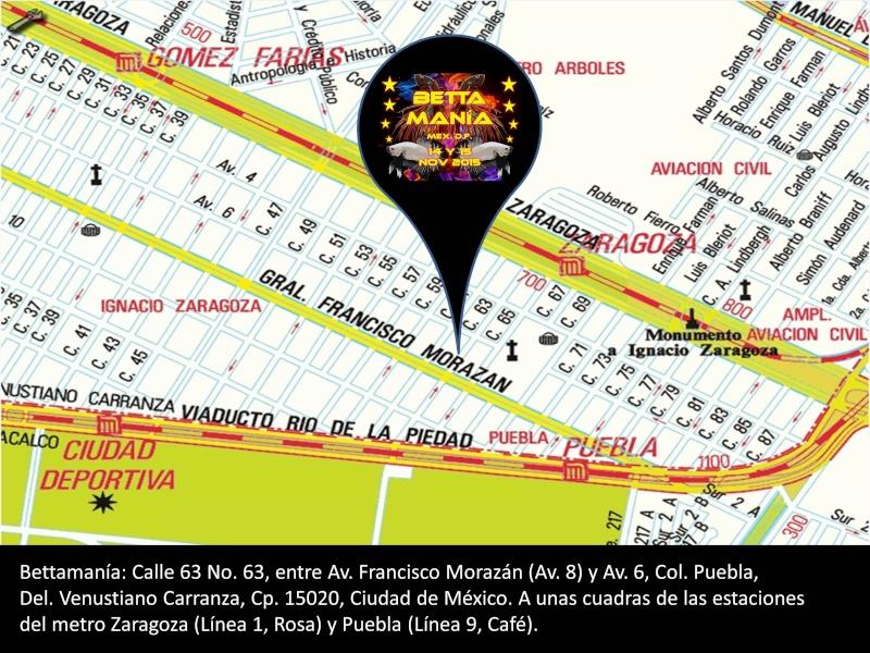 Invitación al evento BETTAMANÍA  Croqui10