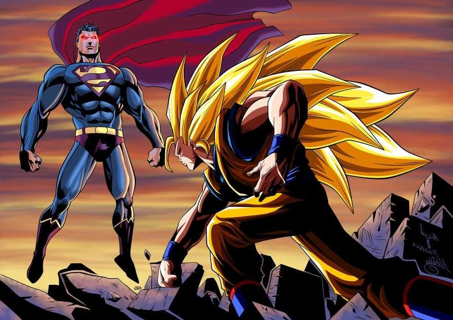 Who Would Win? Superman Vs Goku! Fantas10