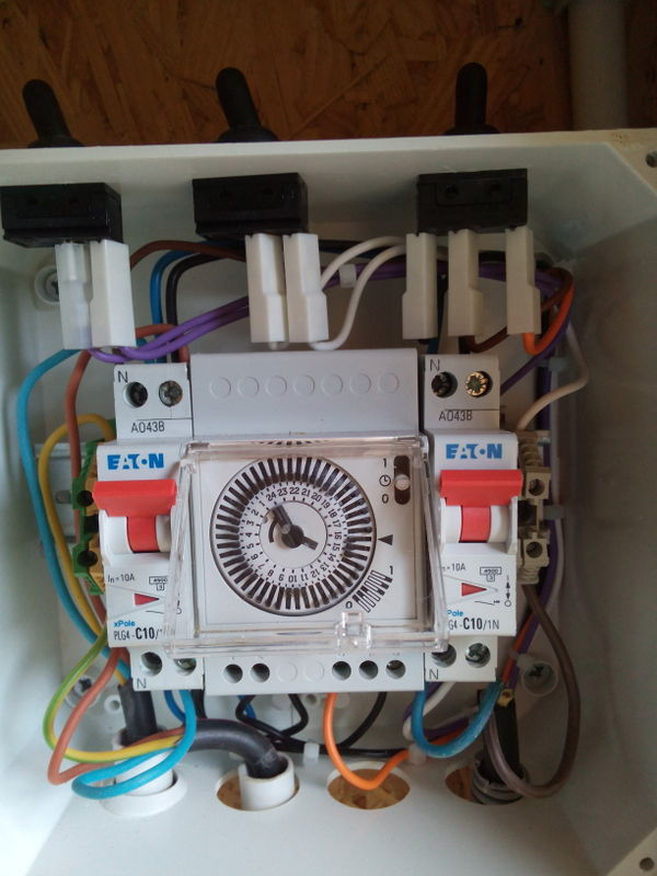 installation électrique à reprendre vers le local technique Photos14