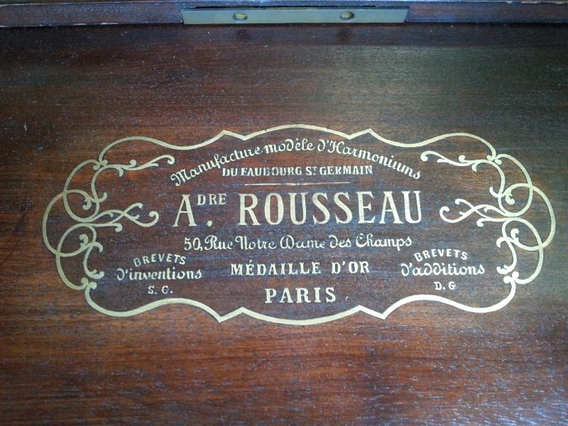 New aquisition: Harmonium Alexandre Rousseau 20151014