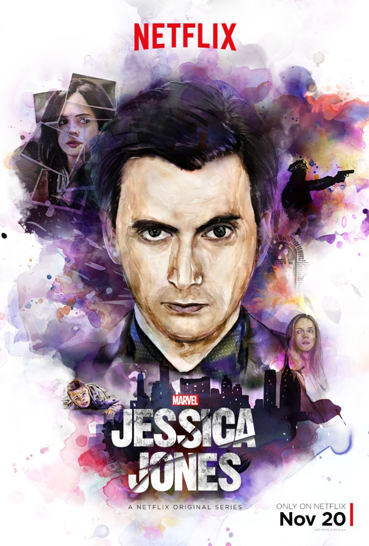[News] Netflix divulga poster de Marvel's Jessica Jones com David Us_ver10