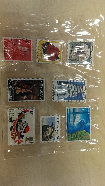 Vererbte Briefmarkensammlung von ca. 10.000 Stück Imag0410