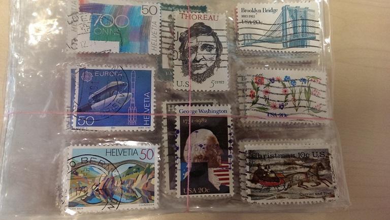 Vererbte Briefmarkensammlung von ca. 10.000 Stück Imag0411