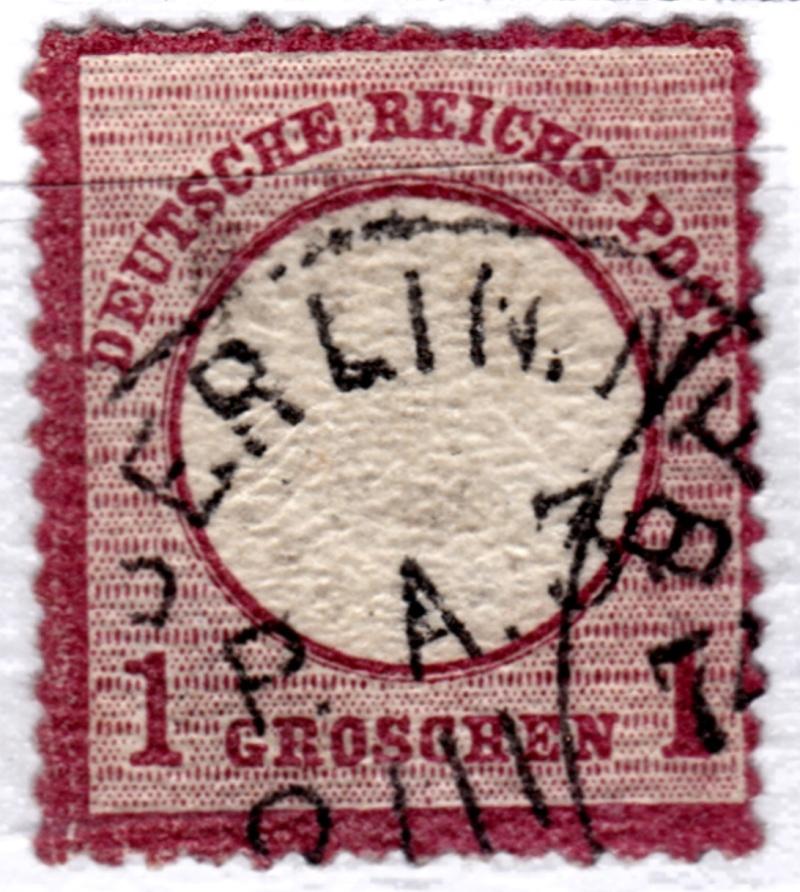 Stempel der Berliner PA/PE zur Brustschild-Zeit Pa3-0810