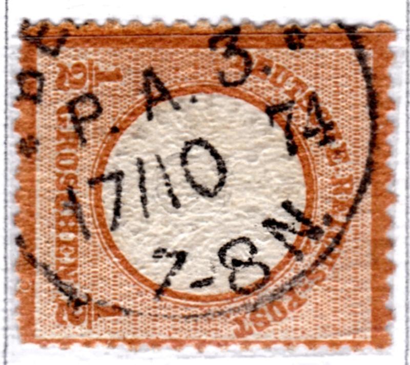 Stempel der Berliner PA/PE zur Brustschild-Zeit Pa3-1710