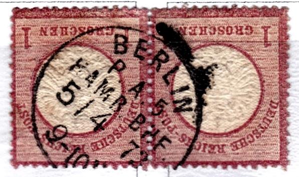 Stempel der Berliner PA/PE zur Brustschild-Zeit Pa5-0510
