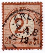 Stempel der Berliner PA/PE zur Brustschild-Zeit Pa8-2210