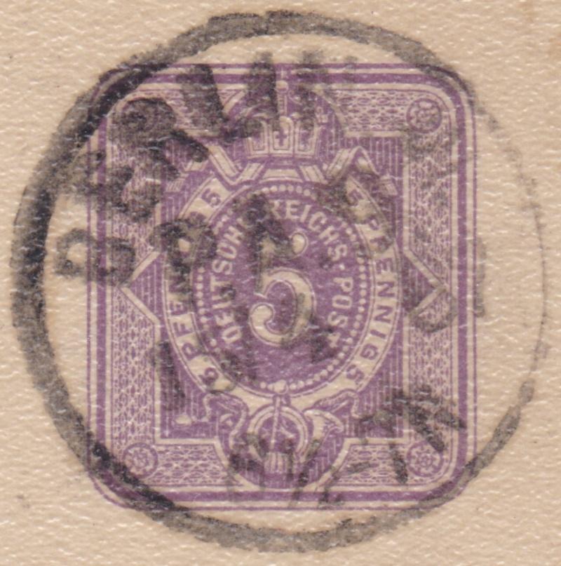 Stempel der Berliner PA/PE zur Brustschild-Zeit Pa9-1510