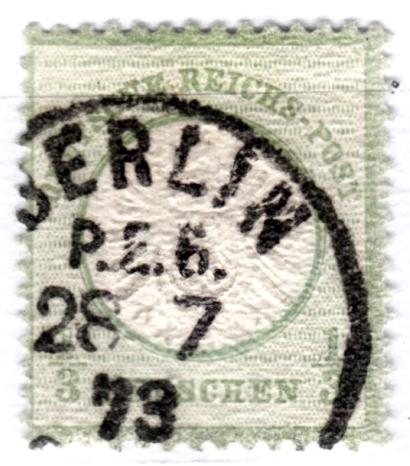 Stempel der Berliner PA/PE zur Brustschild-Zeit Pe6-2810