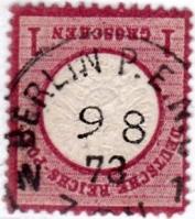 Stempel der Berliner PA/PE zur Brustschild-Zeit Pe8-0910