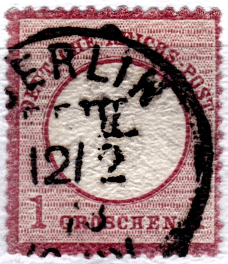 Stempel der Berliner PA/PE zur Brustschild-Zeit Peiii-10