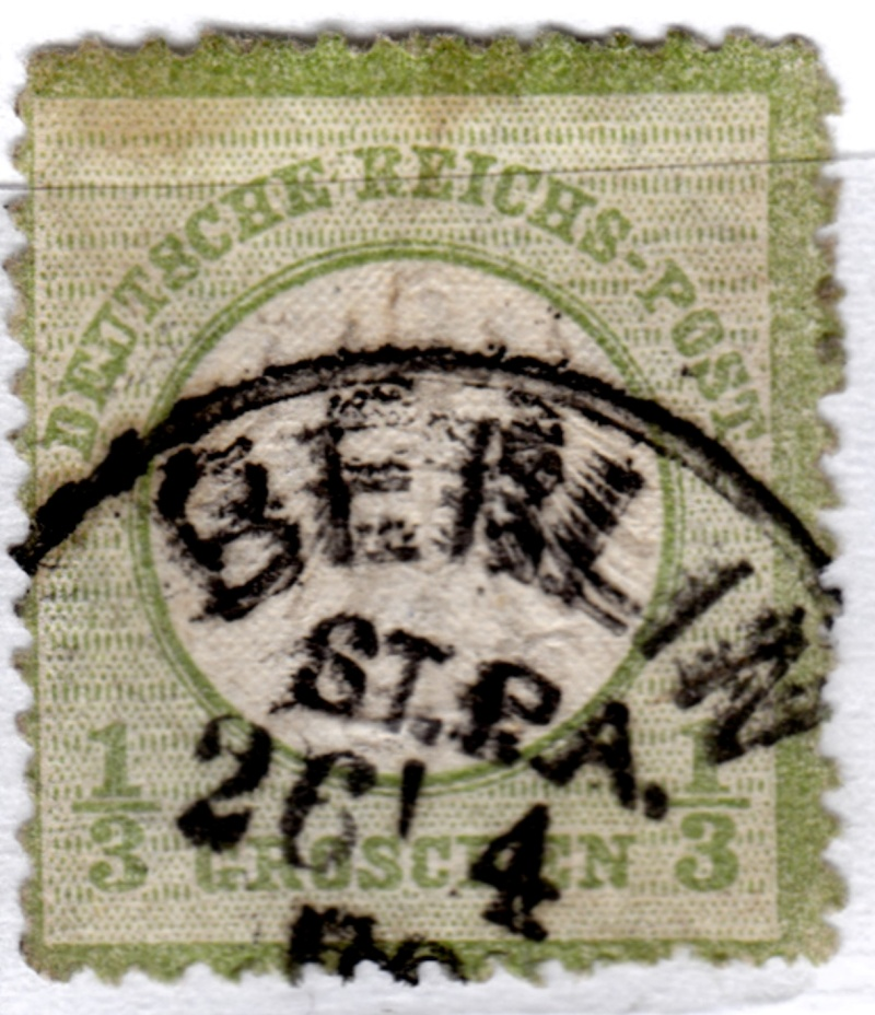 Stempel der Berliner PA/PE zur Brustschild-Zeit Stpa2611