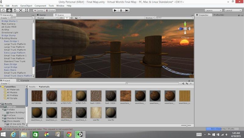 Texturing Progress Textur10