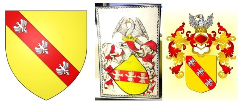 Raoul Ier, duc de Lorraine (1346) - 90mm Blason10