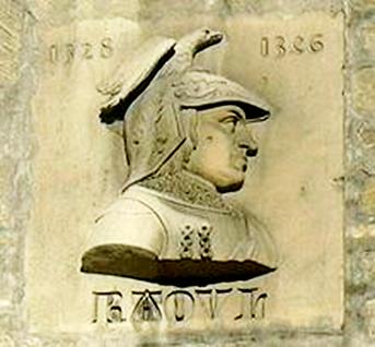 Raoul Ier, duc de Lorraine (1346) - 90mm Buste10