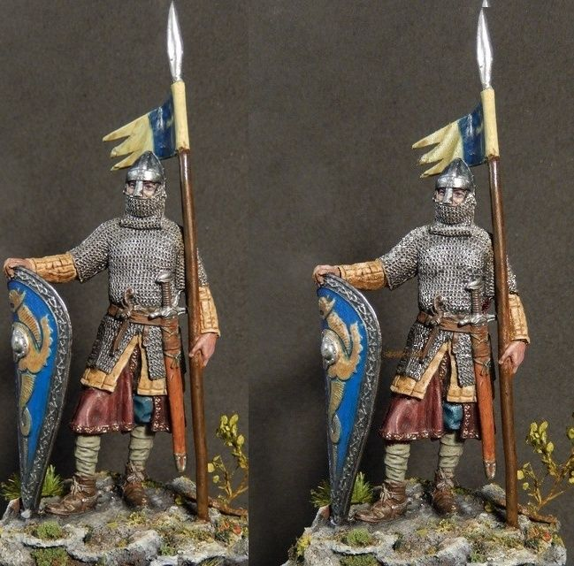 Chevalier normand, EK Castings, 54 mm Soldat12