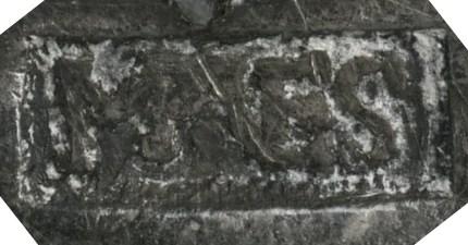 Les contremarques de Vespasien sur les deniers Vesp10